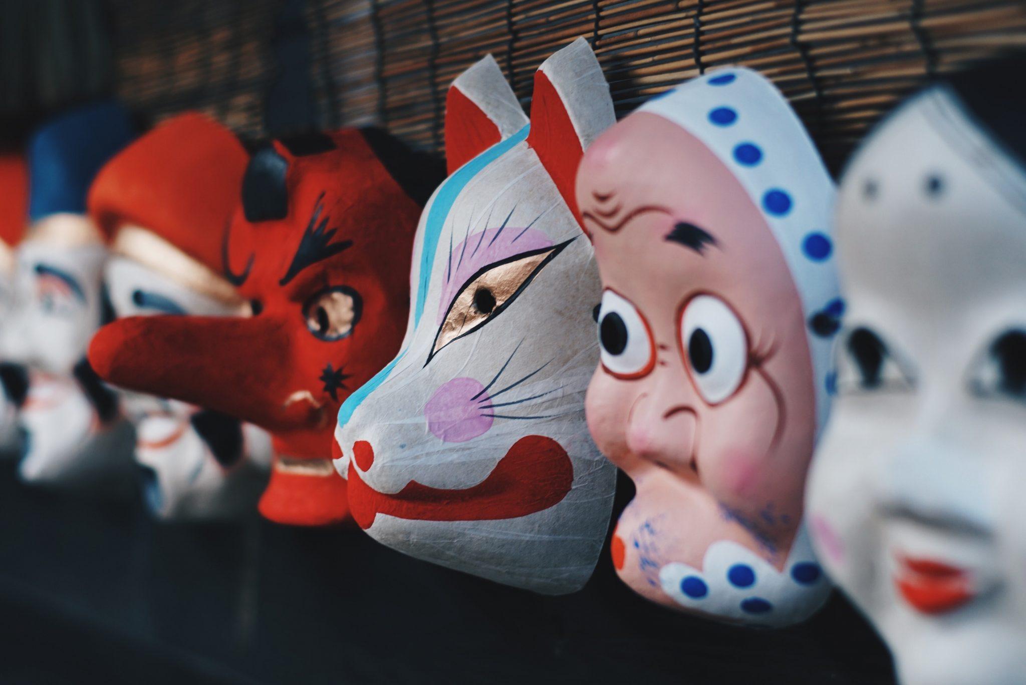 Authentizität Masken