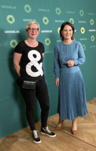 Lydia Krüger & Annalena Baerbock
